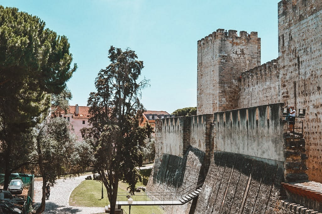 Castelo San Jorge in Lisbon, Portugal