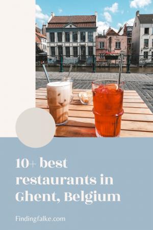 Pinterest for the 10+ best restaurants in Ghent, Belgium for take-away