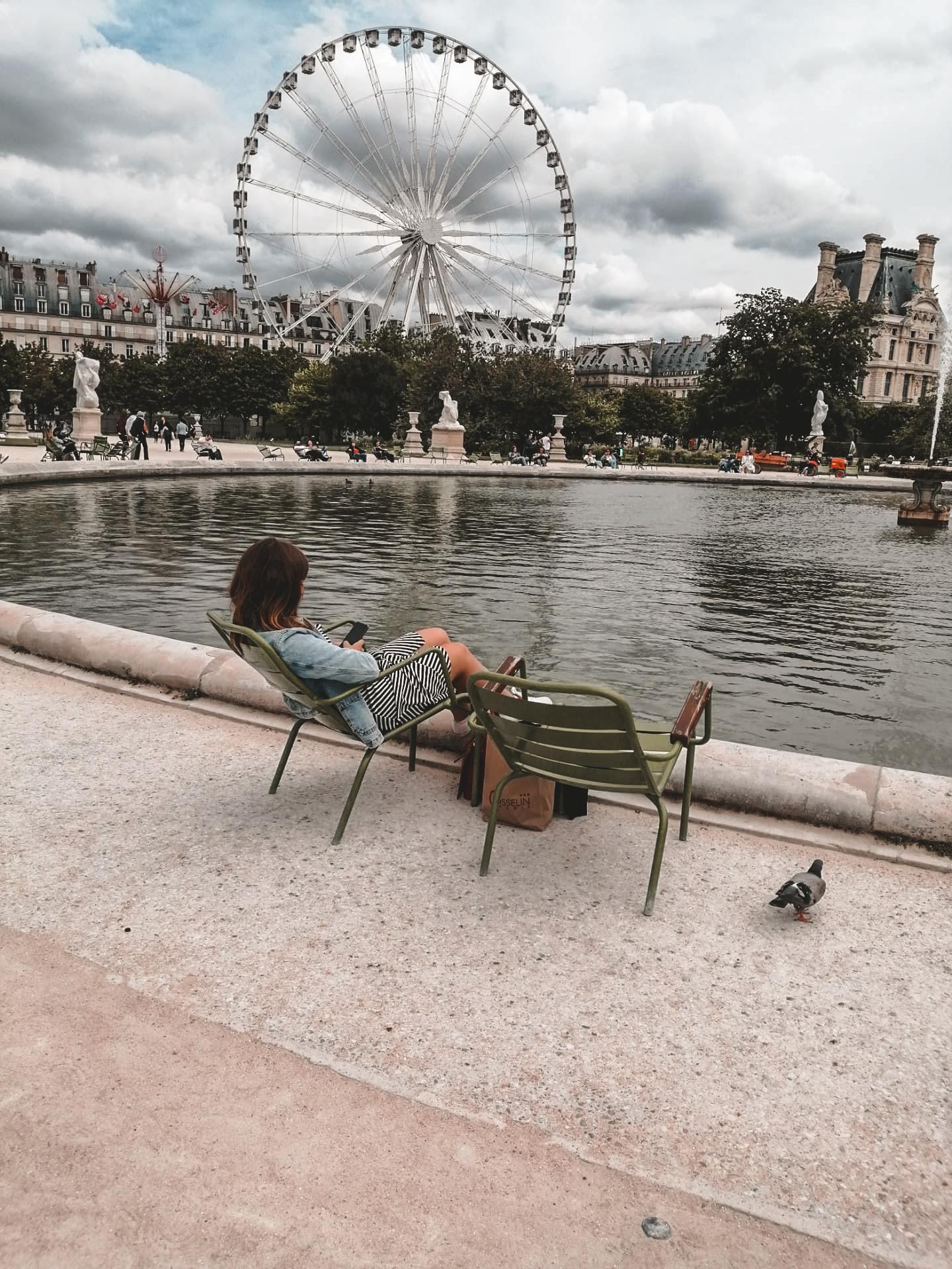 Picnic at Jardin des Tuileries
