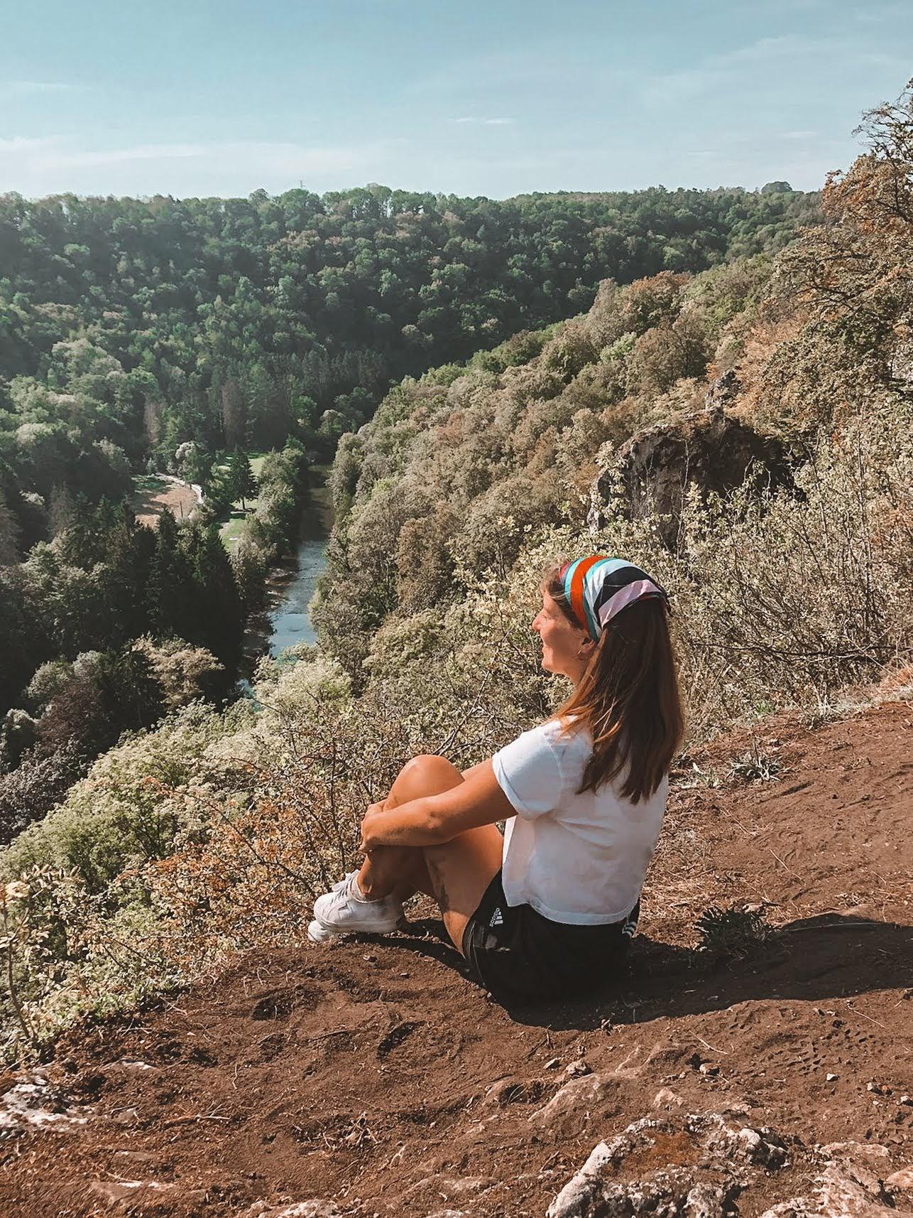 View point at le parc de Furfooz